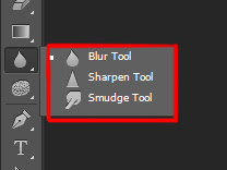 Blur sharpen smudge tool adobe photoshop learn that yourself LTY lalit adhikari