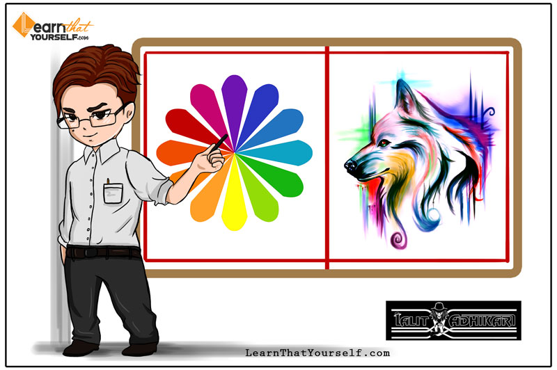 Color Theory Cover Art Learn That Yourself LTY Lalit Adhikari