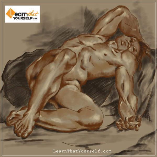 Foreshortening in human anatomy 2 Learn that youself LTY Lalit Adhikari
