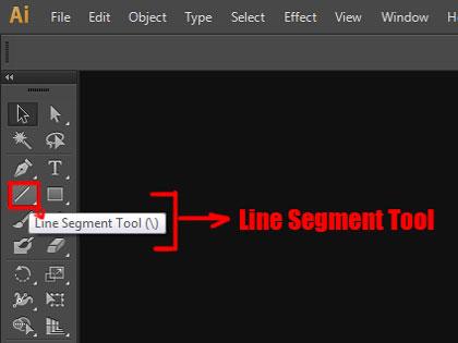 Line segment tool adobe illustrator 1 learn that yourself LTY lalit adhikari cover pic