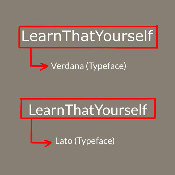 Typography in Graphic Design 4 LearnThatYourself Lalit Adhikari