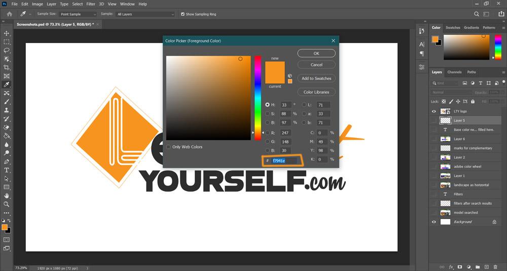 4 Screenshot LTY logo color