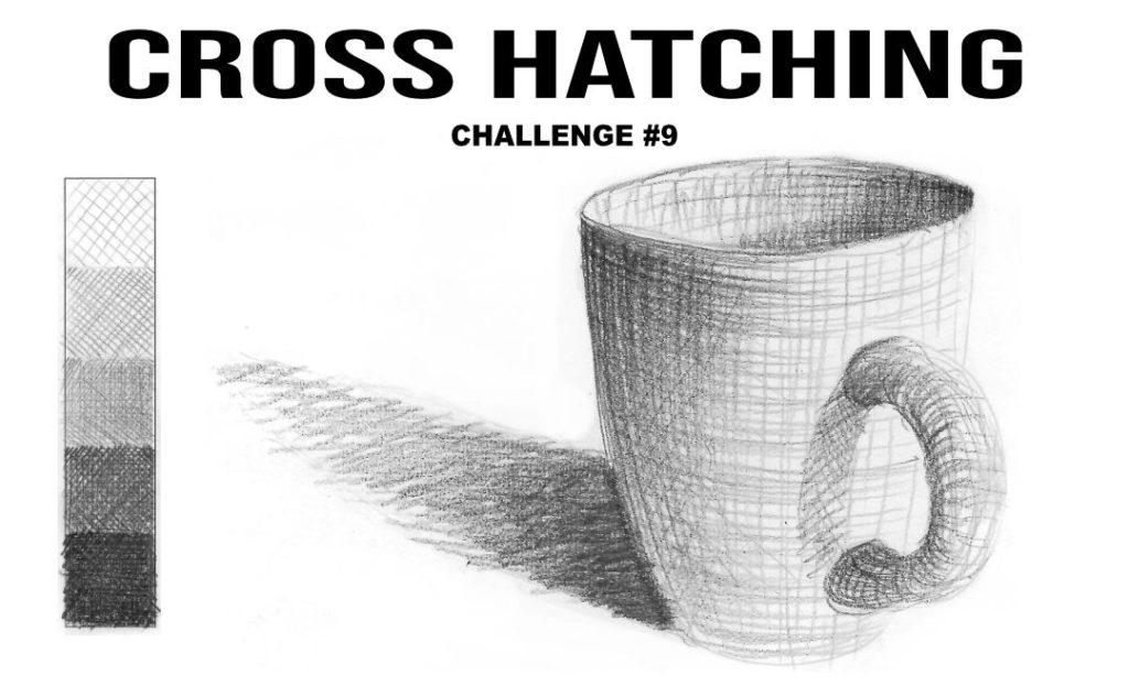 Elements of design 2 line cross hatching