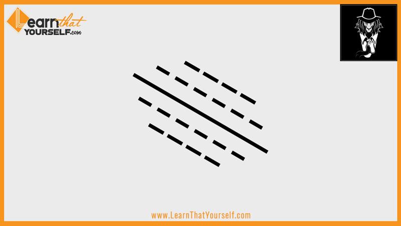 Elements of design 2 line diagonal