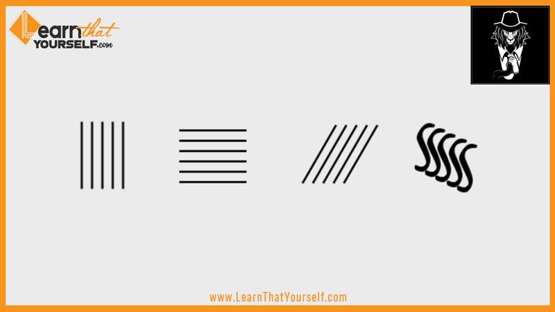 Elements of design 2 line parllel