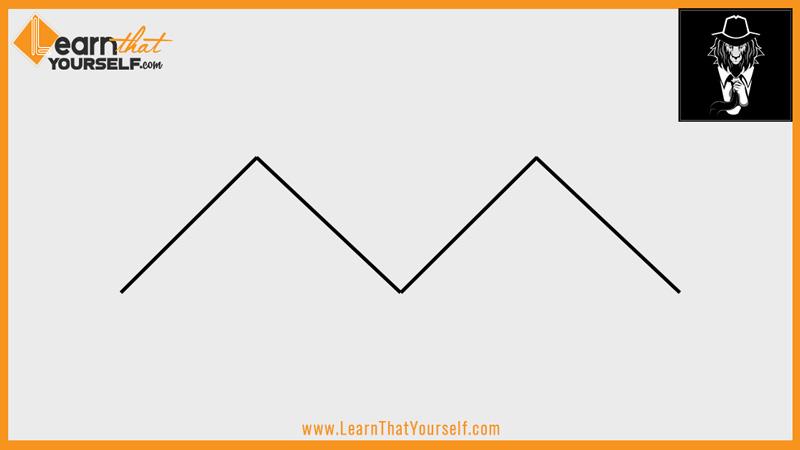 Elements of design 2 line zigzagl