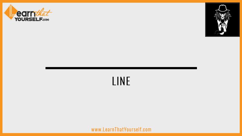 Elements of design 2 line