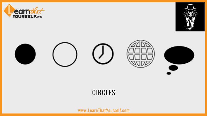 Elements of design 3 shape circles