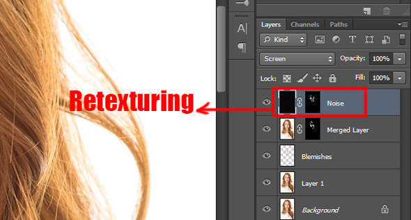 Skin retouching learn that yourself recreating skin texture contour 6