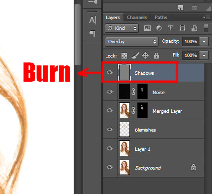 Skin retouching learn that yourself recreating skin texture contour 8
