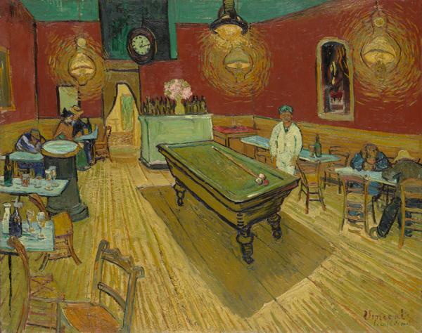 Vincent Willem van Gogh the night cafe